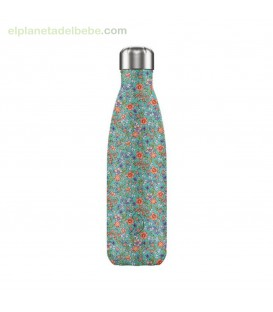 BOTELLA INOX PEONIAS 500ML CHILLY