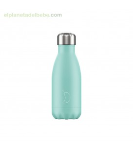 BOTELLA INOX MENTA PASTEL 260ML CHILLY