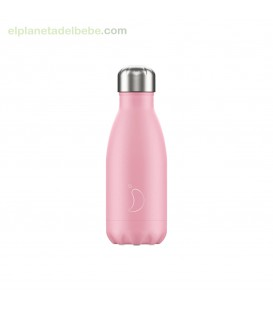 BOTELLA INOX ROSA PASTEL 260ML CHILLY