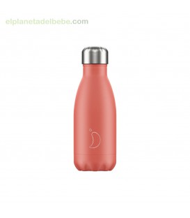 BOTELLA INOX CORAL PASTEL 260ML CHILLY