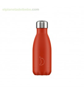 BOTELLA INOX ROJO NEON 260ML CHILLY