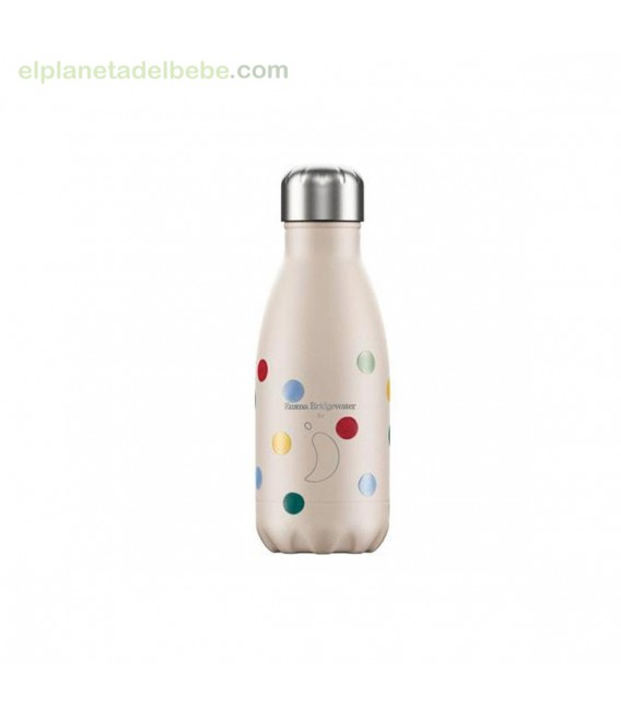 BOTELLA INOX EMMA LUNARES 260ML CHILLY