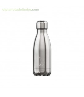 BOTELLA INOX ACERO 260ML CHILLY