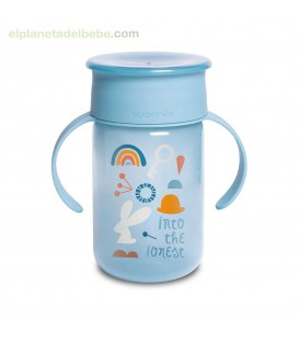 VASO 360 +12M 340ML FOREST AZUL SUAVINEX