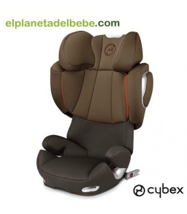 SILLA DE AUTO SOLUTION Q2 FIX GR.2/3 COFEE BEAN CYBEX