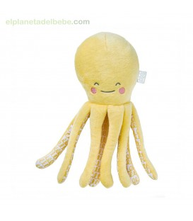 PELUCHE WILD COLORS PULPO AMARILLO SARO