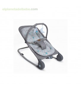 HAMACA MUSICAL MUVE 2.0 HELLO BABY GRIS TUC TUC