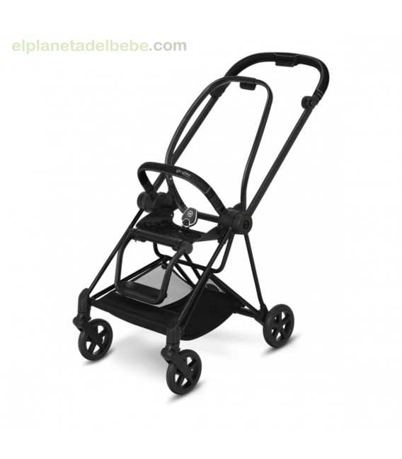 MIOS SILLA Y CHASIS NEGRO MATE CYBEX