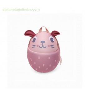 MOCHILA GUARDERIA RIGIDA LITTLE FOREST ROSA TUC TUC