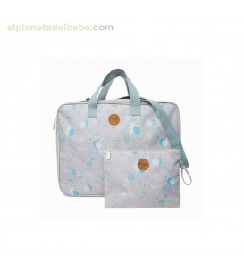 MALETA DE VIAJE POP UP LITTLE FOREST GRIS TUC TUC