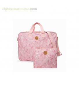 MALETA DE VIAJE POP UP LITTLE FOREST ROSA TUC TUC