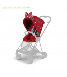 MIOS SEAT PACK PETTICOAT RED BY JEREMY SCOTT CYBEX