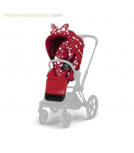 PRIAM SEAT PACK PETTICOAT RED BY JEREMY SCOTT CYBEX