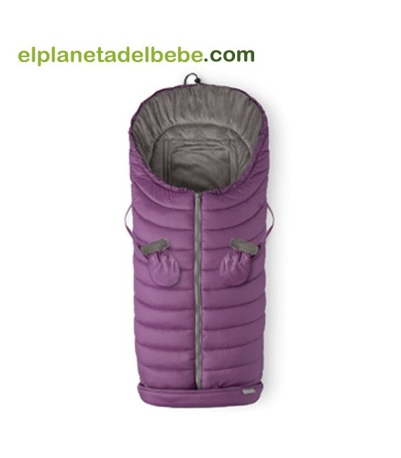 Saco Silla Invierno Iceland Berenjena Baby Clic