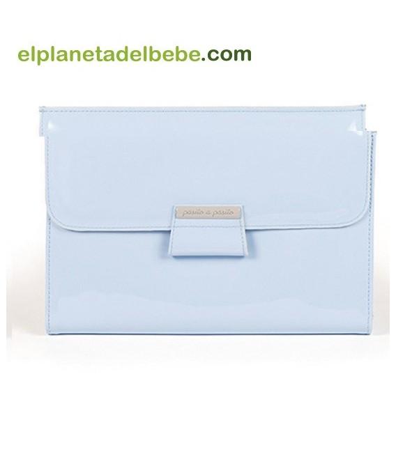 Libro Nacimiento Baby Azul Pasito A Pasito.