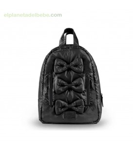 MOCHILA MINI BOWS BLACK 7AM