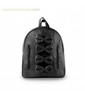 MOCHILA MIDI BOWS BLACK 7AM