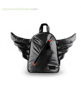 MOCHILA MINI WINGS BLACK 7AM