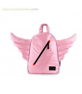 MOCHILA MINI WINGS BLUSH 7AM