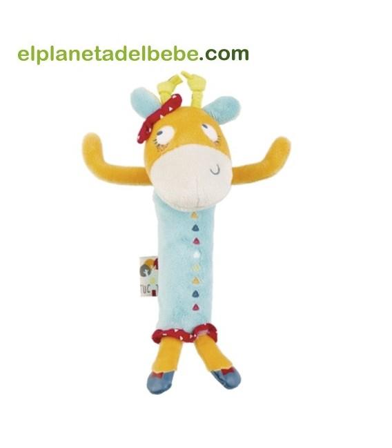 Sonajero de mano jirafa Baobab de Tuc Tuc