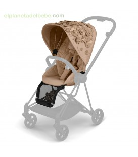 MIOS SEAT PACK SIMPLY FLOWERS BEIGE FASHION ED CYBEX