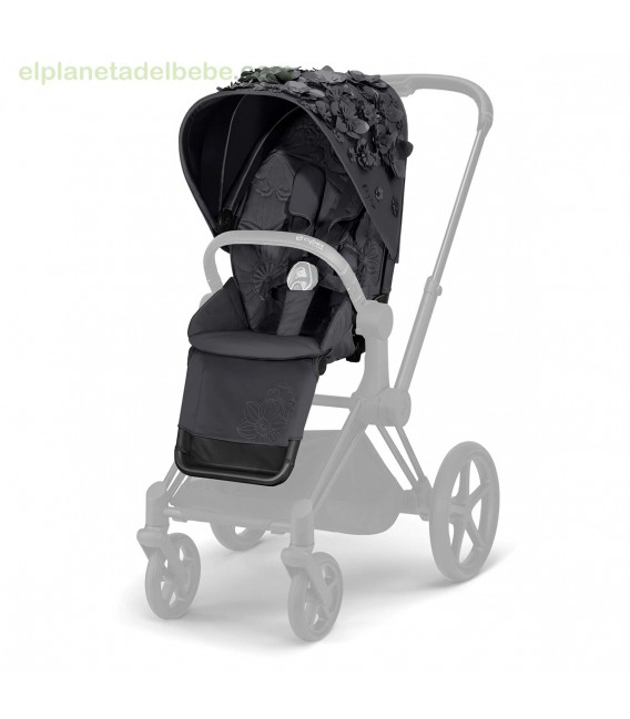 PRIAM SEAT PACK SIMPLY FLOWERS GRIS CYBEX
