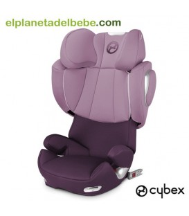 SILLA DE AUTO SOLUTION Q2 FIX GR.2/3 PRINCESS PINK CYBEX