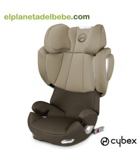 SILLA DE AUTO SOLUTION Q2 FIX GR. 2/3 OLIVE KHAKI CYBEX