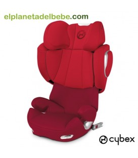SILLA DE AUTO SOLUTION Q 2 FIX GR.2/3 MARS RED CYBEX
