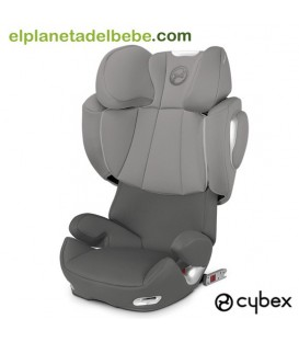 SILLA DE AUTO SOLUTION Q2 FIX GR.2/3 MANHATTAN GREY CYBEX
