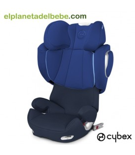 SILLA DE AUTO CYBEX SOLUTION Q2 FIX GR.2/3 ROYAL BLUE