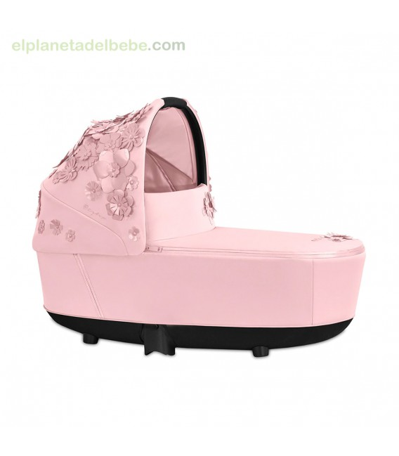 PRIAM CAPAZO LUX SIMPLY FLOWERS PINK CYBEX