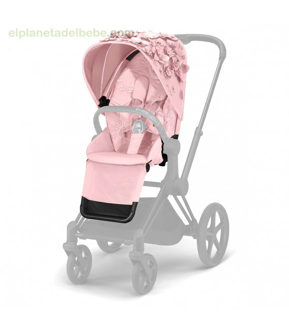 PRIAM SEAT PACK SIMPLY FLOWERS PINK CYBEX