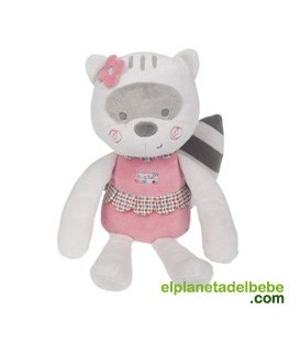 PELUCHE MAPACHE MAGIC FOREST NIÑA TUC TUC