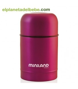 Termo food colour Pink 600 Ml Miniland