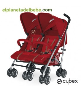 Silla de Paseo Gemelar Cybex Twinyx Hot And Spicy
