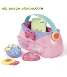 Bolso y accesorios de Pretty in Pink.