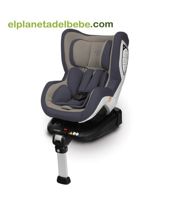 SILLA DE AUTO BI CARE FIX GR.0+/1 MOON ROCK 916 CASUALPLAY