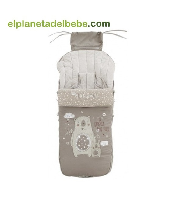 Saco Silla Invierno Nest S16 Plus Taupe Jane
