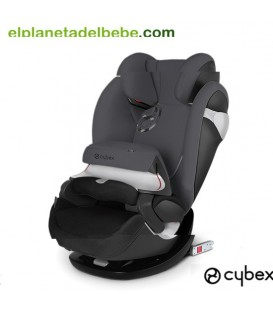 SILLA DE AUTO PALLAS M-FIX GR.1/2/3 PHANTOM GREY CYBEX