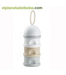 Caja dosificadora de leche nude de Beaba