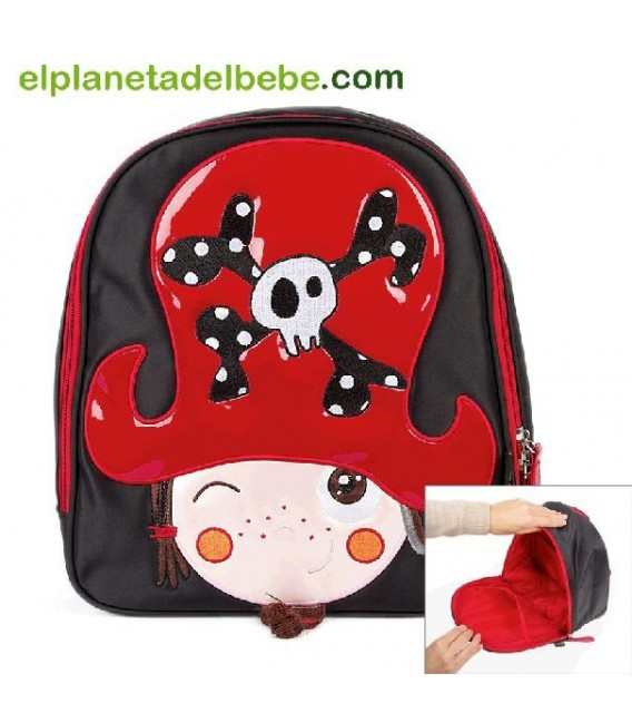 MOCHILA THE PIRATES BOY KID KIWISAC