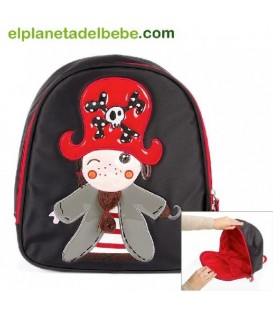 MOCHILA THE PIRATES BOY BABY KIWISAC