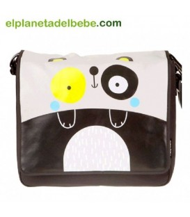 BOLSO PATERNIDAD BLACK AND WHITE TUC TUC