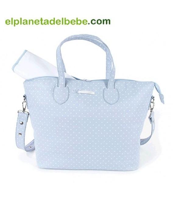Bolsa Canastilla Atelier Azul Nursery Pasito a Pasito