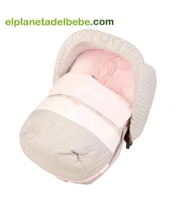 Mini Saco de Invierno Slowly Rosa Tuc Tuc