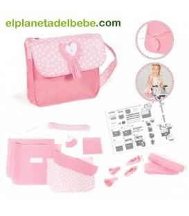 Kit Bolsa de Coser Rosa la Niña