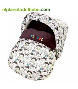 MINI SACO INVIERNO TUC TUC ESTAMPADO PEOPLE