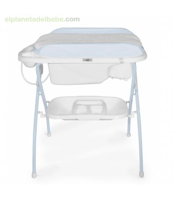 Bañera Riccione I Bear azul neonato.