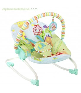 HAMACA BEBÉ ROCKER SNUGGLE JUNGLE BRIGHT STARS